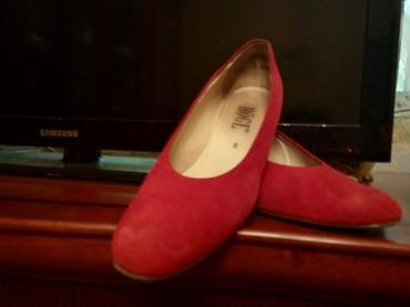 Туфли красные замшевые 42 размер в Бишкек