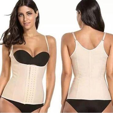 Маечный корсет и бандажный для похудения и уменьшения объёма талии до