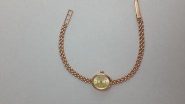 Часы наручные золото 585проба. длина браслета 17 см. в Бишкеке