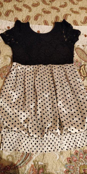 Продается мини-платье в горошек в хорошем состоянии,прошу 200 сомов в Бишкек