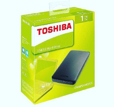 hardisk - Azərbaycan: 1TB orijinal Toshiba hardisklerinin 3 ay zemanetle satisi Xarici