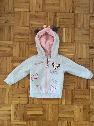 Dečije jakne i kaputi   Zrenjanin: Duks jaknica, velicina 86. Odlicna jaknica za prelazni period, ocuvana