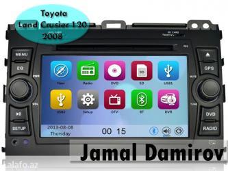 Bakı şəhərində Toyota land crusier 120 2008 üçün dvd-monitor. Dvd-монитор