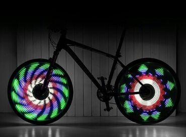 64LED анимация - подсветка для велосипеда64LED гаджет, устанавливается