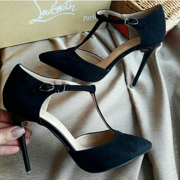 Туфли замшевые. Абсолютно новые. Отдам за полцены. Не подошёл размер в Бишкек