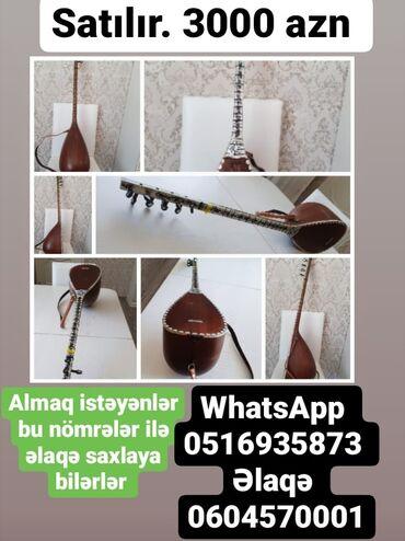 Musiqi alətləri - Naxçıvan: Saz