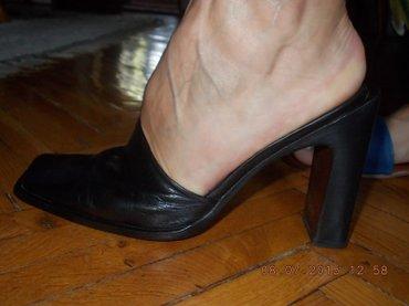 Papuce kozne broj 37unutrasnje gaziste 23cm ,orginal GIO - Kraljevo