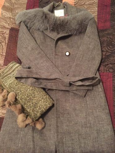 Продаю свое пальто осень -зима + в Бишкек