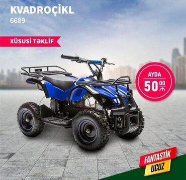 Kradovsikl ayda 50 manat