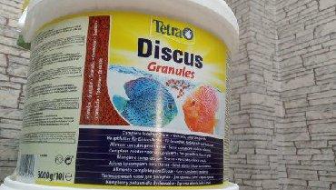 Tetra diskus. Almaniya istehsalı Agzi baglı 3 kiloluq balıq yemi 110