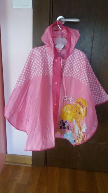 Barbie kišna kabanica - samo otpakovanane nenošena,veličina 10
