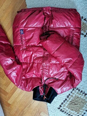 Moto jakna akito - Srbija: Zimska jakna, superdry, odgovara s/m odnosno 36/38, sa 2 lica, nošena