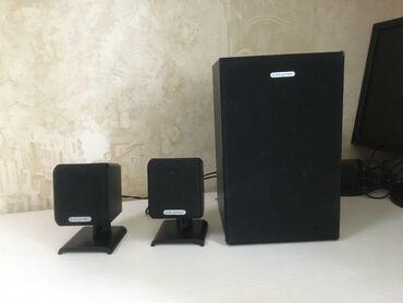 Аудиотехника в Душанбе: Колонки и сабвуфер для ПК или других устройств с поддержкой входа как