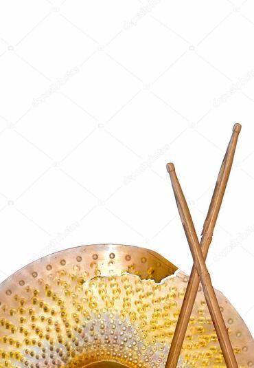 Барабаны - Бишкек: Куплю убитое железо (барабанные тарелки).В любом состоянии, не