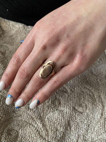 Украшения - Ош: Продаю кольцо 583 пробы российское золото 4 грамма размер 18 город Ош