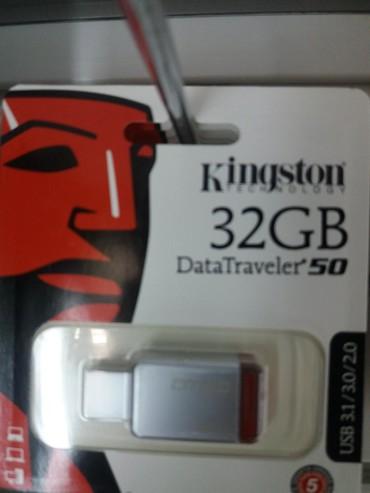 2-гб-флешка-цена в Кыргызстан: Флешка металическая 32GB. Гарантия на 7дней