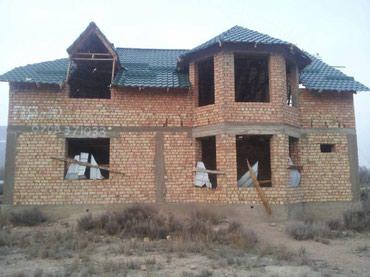 Продаю участок с недостроенным домом  в Чок-Тал