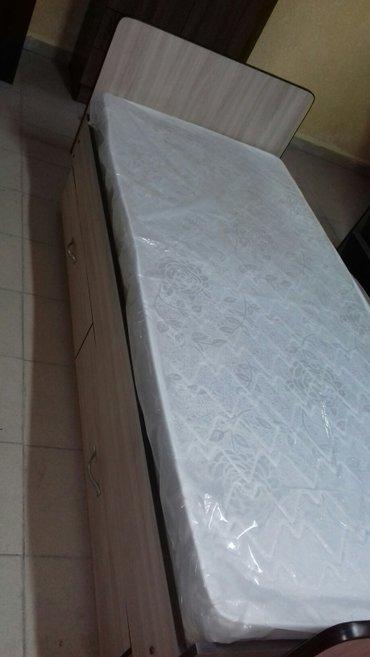 кровать односпальные новые из российского ламината доставка по городу  в Бишкек