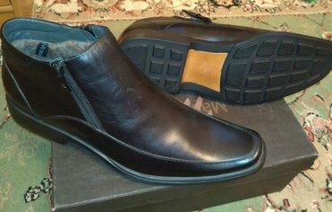 Новые фирменные (masai tier), кожаные зимние ботинки 44 размер, с в Бишкек