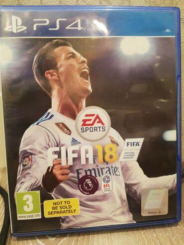 PS4 (Sony Playstation 4) Azərbaycanda: Fifa 2018(barter mümkündür) yep yeni 20%Adidasda endirim kuponu)