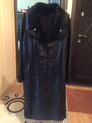 204 elan | PLAŞLAR: Продам новый кожаный плащ, купленный за 450 манатов в связи с переездо