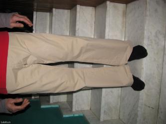Jagger pamučne pantalone obučene par puta , odlične. Veličina 34, - Zrenjanin