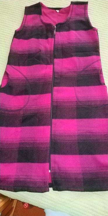 Теплый, мягкий удлиненный жилет, ткань приятно к телу, новый в Кант