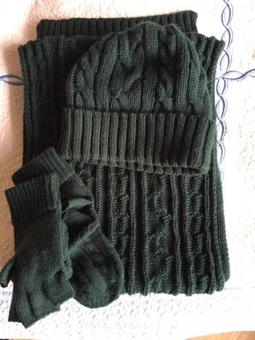 Шапка шарф и перчатки в Бишкек