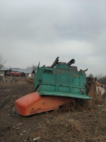 Кузов с подрамником и цилиндром, 20-25 тонн, 1250$ в хорошем состоянии в Siedove
