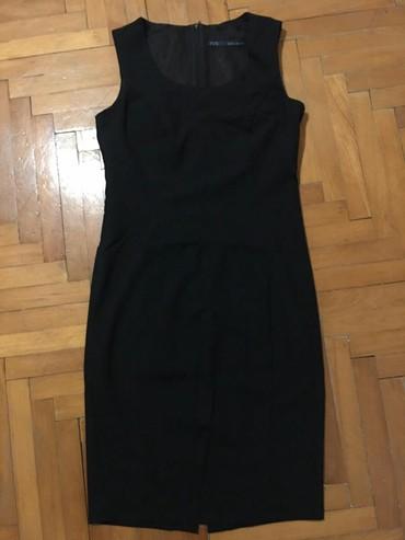 Haljine - Paracin: Zara elegantna crna haljina,velicina M
