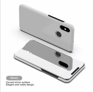 чехол от солнца для автомобиля в Азербайджан: Серебристый зеркальный чехол для Xiaomi Redmi Note 5