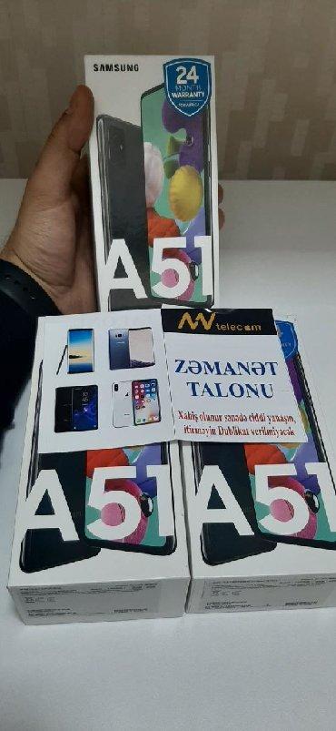 bmw 5 серия 525i 5mt - Azərbaycan: Yeni Samsung A51 128 GB qara