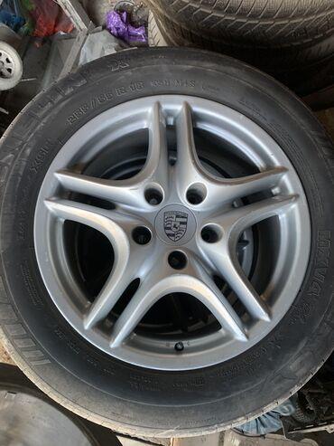 zheltyj porsche в Кыргызстан: Продам колеса на Porsche Cayenne. 255/55/R18