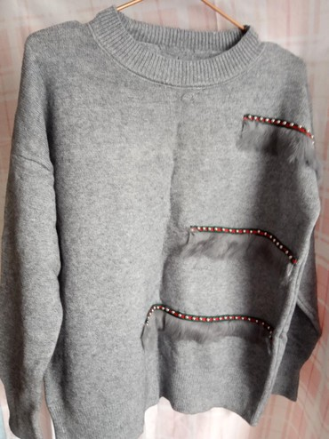 palto razmer 46 в Кыргызстан: Женская кофта 44-46 размер новая