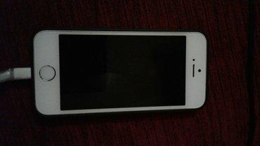 Xırdalan şəhərində iphone 5S 16 Gb  silver barmaq izi işləmir 220 AZN