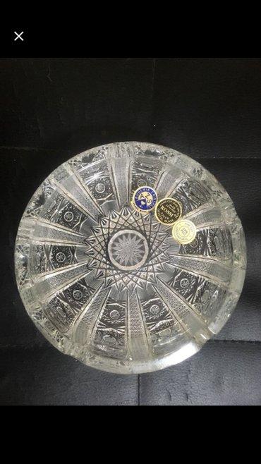 Bakı şəhərində Bogemia cristal tezedi karobkada