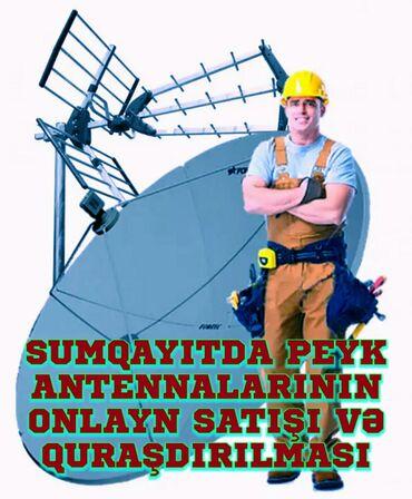 """Xidmətlər - Azərbaycan: Antenna ustasıÜnvan: Sumqayıt şəhəri, Çerkassi küçəsi, """"Anamın"""