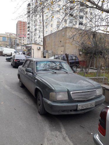 Bakı şəhərində Qaz 3110 satilir.Ban novu - Sedan.Yürüş, km - 400