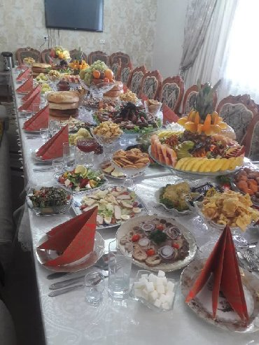 салаты и закуски на в Кыргызстан: Любой сложности Банкет,фуршет, кэнди бар, и любое другое мероприятие
