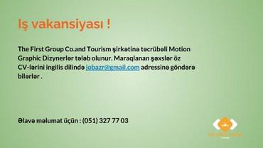 Bakı şəhərində We're looking for a Motion Graphic Designer to join our Social