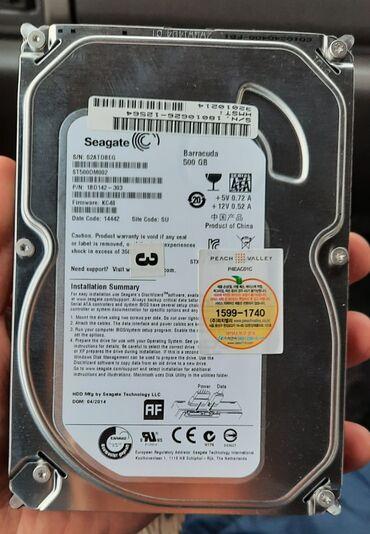 биндеры 500 листов для дома в Кыргызстан: Жесткий диск, HDD 500 GB новая