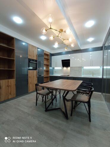 Недвижимость - Джал мкр (в т.ч. Верхний, Нижний, Средний): Элитка, 3 комнаты, 113 кв. м Теплый пол, Бронированные двери, Видеонаблюдение