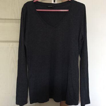 Majice na veliko - Srbija: Terranova teget majica dugih rukavaVeličina: xlAko kupite još neki