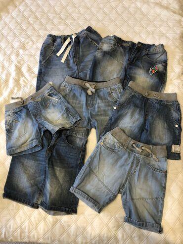 Dečije Farmerke i Pantalone | Jagodina: BENETTON i ZARA dečiji teksas šorcevi,kao novi,nigde oštećeni,veličine