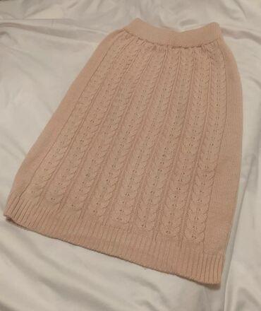 Трикотажная юбка цена 500с новое