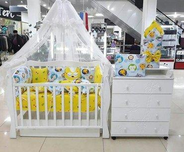 Большой выбор кроваток. Цена 6500с. с в Бишкек