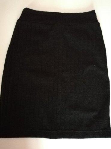 Crna-uska-haljina - Srbija: Crna rastegljiva uska suknja univerzalna vel