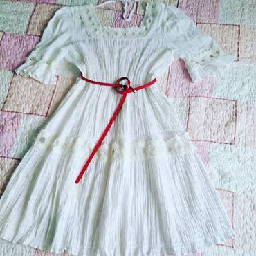 Potpuno nova haljina, sa etiketom, vel M ili L, u struku ima gumu