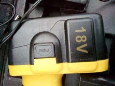 Odvijači | Srbija: Aku srafilica MANESSMAN 18 volti sa dve baterija i punjacem komplet u