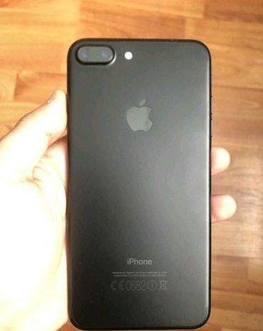 Продаю iphone 7 plus black matt состояние в Бишкек